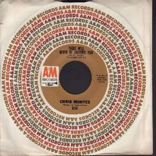 Montez, Chris - There Will Never Be Another You/You Can Hurt The One You Love (with A&M company sleeve) (bb) - NM9/ - 45 rpm Records