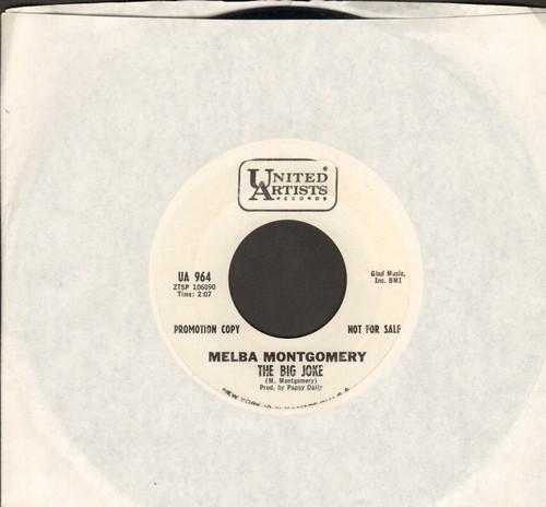 Montgomery, Melba - The Big Joke/Constantly (DJ advance pressing) - EX8/ - 45 rpm Records