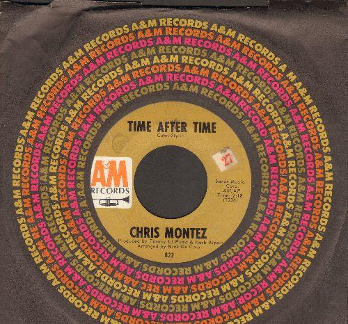 Montez, Chris - Time After Time/Keep Talkin'  - EX8/ - 45 rpm Records