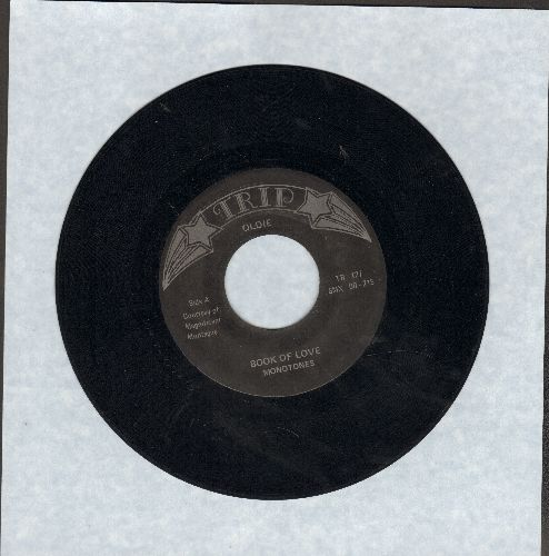 Monotones - Book Of Love/You Can't Sit Down (by The Dovells on flip-side) (re-issue) - EX8/ - 45 rpm Records