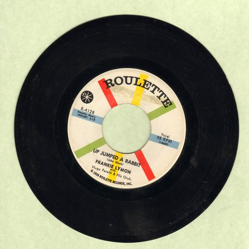Lymon, Frankie - Up Jumped A Rabbit/No Matter What You've Done - NM9/ - 45 rpm Records