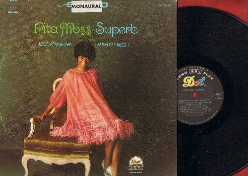 Moss, Rita - Superb: Alfie, Wait Until Dark, Love Is A Simple Thing, This Lonely Town, Wake Up Heaven, Visit Me (vinyl MONO LP record) - NM9/EX8 - LP Records