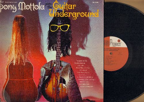 Mottola, Tony - Tony Mottola Joins The Guitar Underground: Hey Jude, I've Gotta Be Me, Love Child, Both Sides Now (vinyl STEREO LP record, gatefold cover) - EX8/EX8 - LP Records