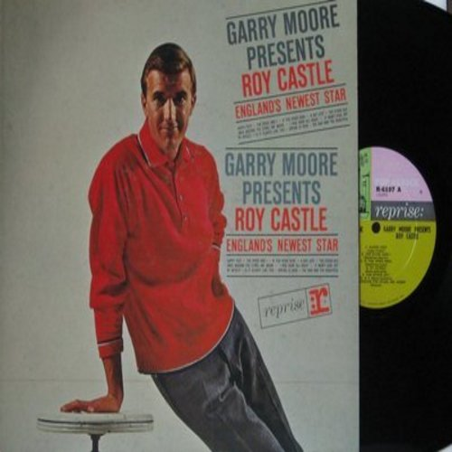 Castle, Roy - Garry Moore Presents Roy Castle - England's Newest Star: Happy Feet, Spring Is Here, I Won't Cool Off, A Day Late, The Bad And The Beautiful (vinyl MONO LP record) - NM9/NM9 - LP Records