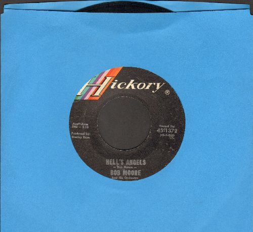 Moore, Bob & His Orchestra - Hell's Angels/I Can't Stop Loving You  - VG7/ - 45 rpm Records