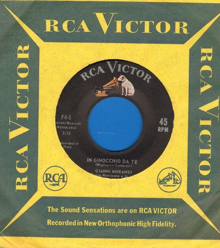 Morandi, Gianni - In Ginocchio Da Te (ULTRA-DREAMY Love Ballad!)/Se Puoi Uscire Una Domenica Sola Con Me (US Pressing, sung in Italian) - M10/ - 45 rpm Records