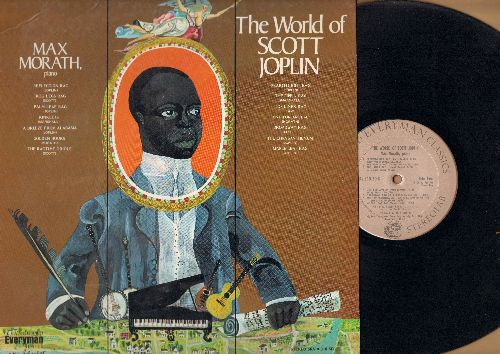 Morath, Max, Scott Joplin - The World Of Scott Joplin: Reflection Rag, The Ragtime Oriole, The Pippin Rag, One For Amelia (vinyl STEREO LP record) - NM9/EX8 - LP Records