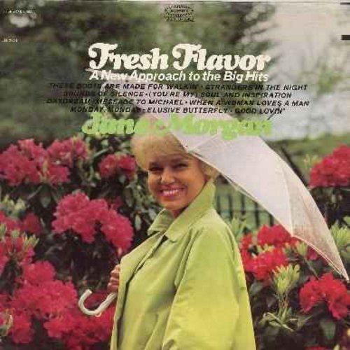 Morgan, Jane - Fresh Flavor: These Boots Are Made For Walkin', Strangers In The Night, Sounds Of Silence, (You're My) Soul And Inspiration, Daydream, Elusive Butterfly, Good Lovin' (vinyl STEREO LP record) - M10/NM9 - LP Records