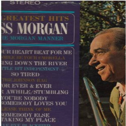 Morgan, Russ - His Greatest Hits In The Organ Manner: Bye Bye Blackbird, Does Your Heart Beat For Me, The Johnson Rag, You're Nobody 'Til Somebody Loves You (vinyl STEREO LP record) - M10/VG7 - LP Records