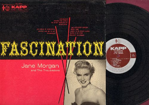 Morgan, Jane - Fascination: An Affair To Remember, It's Not For Me To Say, Speak Low, River Seine, Midnight In Athens (vinyl MONO LP record) - NM9/EX8 - LP Records