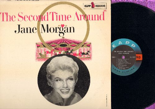 Morgan, Jane - The Second Time Around: My Favorite Things, The Bells Of St. Mary's, Romantica, Our Language Of Love (vinyl MONO LP record) - M10/VG7 - LP Records