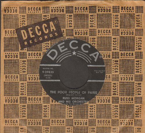 Morgan, Russ - People Of Paris/Ananbelle (with vintage Decca company sleeve) - NM9/ - 45 rpm Records