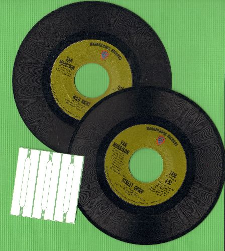 Morrison, Van - 2 for 1 Special: Street Choir/When That Evening Son Goes Down (2 vintage first issue 45rpm records for the price of 1!) - VG7/ - 45 rpm Records