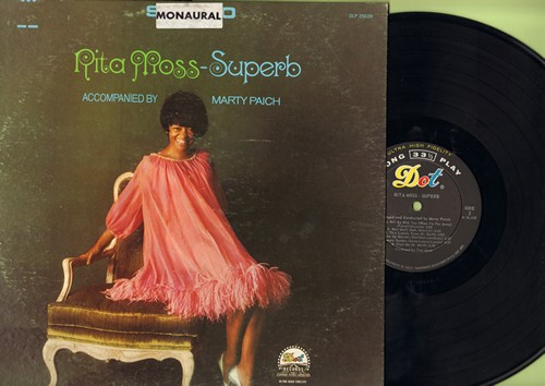 Moss, Rita - Superb: Alfie, Who Will Be With You, Wake Up Heaven, Gloomy Sunday, Visit Me (vinyl MONO LP record) - M10/VG7 - LP Records