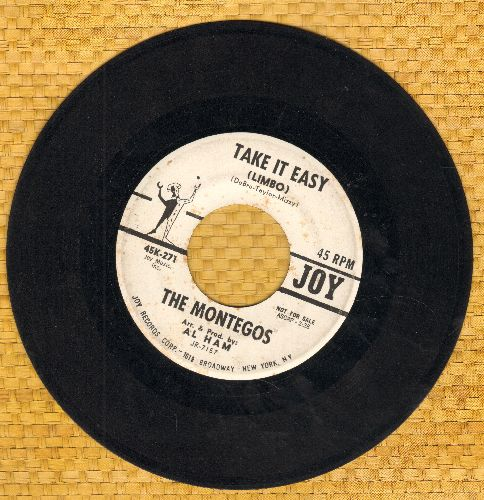 Montegos - Take It Easy/Sweet Leilani (double-hit Limbo Novelty Record) - VG7/ - 45 rpm Records