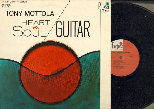 Mottola, Tony - Heart & Soul: Love Is Here To Stay, The Impossible Dream, Jimmy's Blues (vinyl STEREO LP record, gate-fold cover) - NM9/EX8 - LP Records