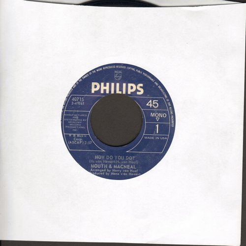 Mouth & MacNeal - How Do You Do?/Land Of Milk And Honey - EX8/ - 45 rpm Records