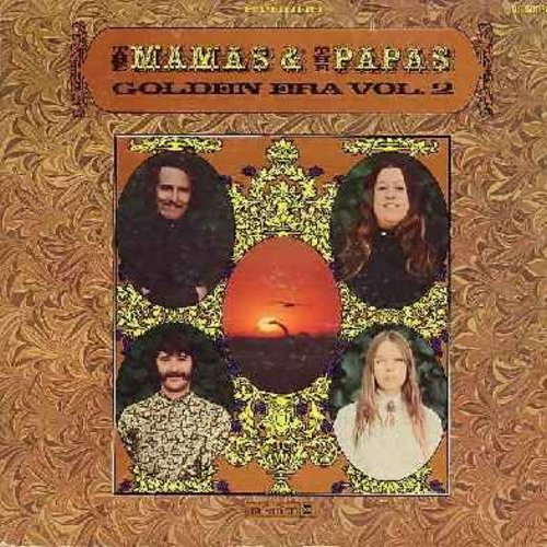 Mamas & Papas - Golden Era Vol. 2: My Girl, Twist And Shout, Glad To Be Unhappy, For The Love Of Ivy, Do You Wanna Dance, You Baby, Dream A Little Dream Of Me (vinyl STEREO LP record, gate-fold cover) - VG7/VG7 - LP Records