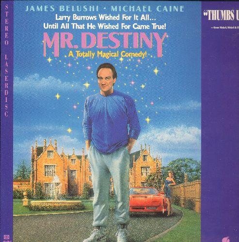 Mr. Destiny - Mr. Destiny Laser Disc starring James Belushi and Michael Caine - NM9/EX8 - Laser Discs