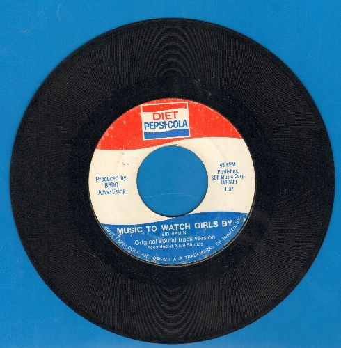 Unknown - Music To Watch Girls By (double-A-sided PROMO Pressing for Diet Pepsi-Cola) - EX8/ - 45 rpm Records