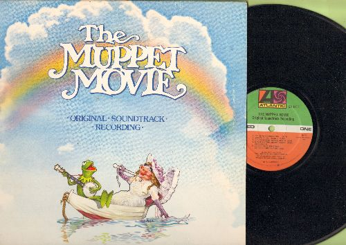 Muppet Movie - The Muppet Movie - Original Motion Picture Soundtrack, includes Hit -Rainbow Connection-, gate-fold cover) - VG7/EX8 - LP Records