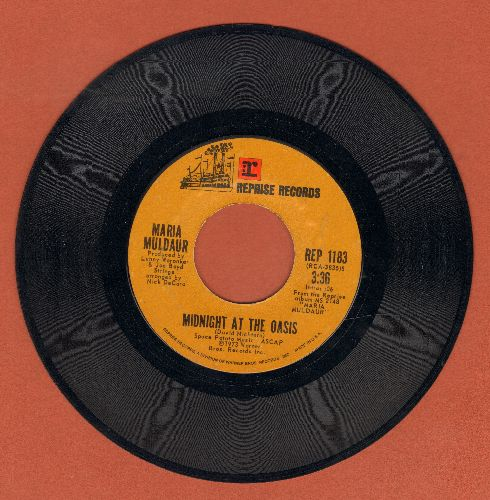 Muldaur, Maria - Any Old Time/Midnight At The Oasis - EX8/ - 45 rpm Records