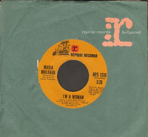 Muldaur, Maria - I'm A Woman/Cool River (with vintage Reprise company sleeve) - NM9/ - 45 rpm Records