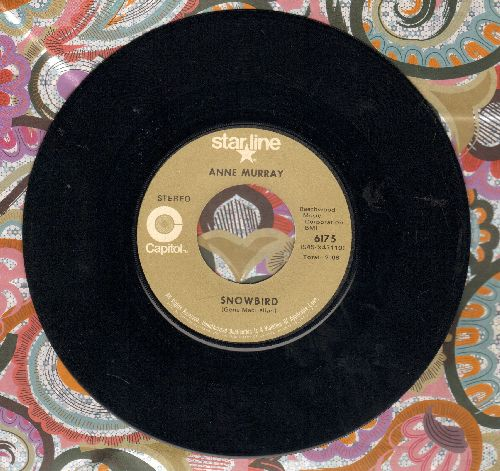 Murray, Anne - Snowbird/Put Your Hand In The Hand (double-hit re-issue) - EX8/ - 45 rpm Records