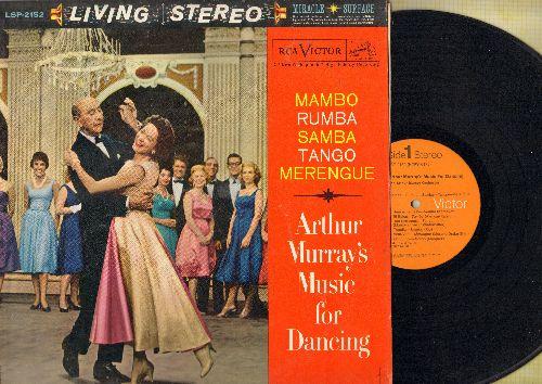 Murray, Arthur Music For Dancing - Mambo - Rhumba- Samba - Tango - Merengue (vinyl STEREO LP record, 1970s pressing) - NM9/EX8 - LP Records
