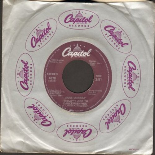 Murray, Anne - I'm Happy Just To Dance With You/What's Forever For - M10/ - 45 rpm Records