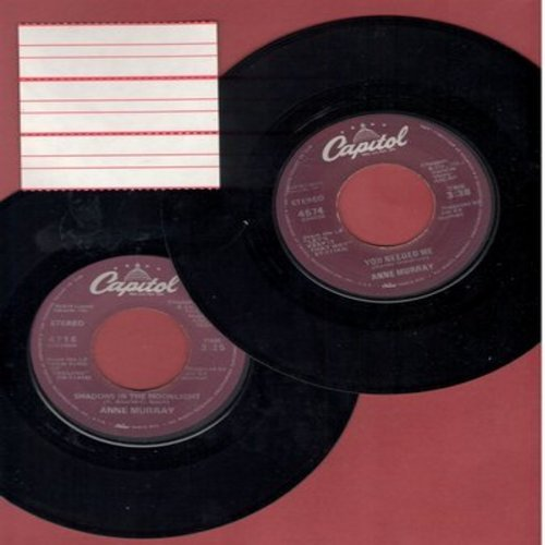 Murray, Anne - 2 for 1 Special: You Needed Me/Shadows In The Moonlight (2 vintage first issue 45rpm records for the price of 1!) - EX8/ - 45 rpm Records