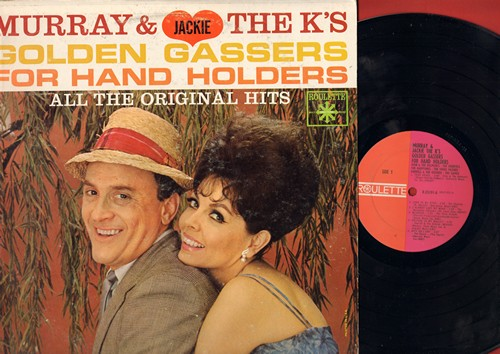 Murray & Jackie The K's - Golden Gassers For Hand Holders: Teen Angel, Look In My Eyes, I Only Have Eyes For You (vinyl LP record, original hit versions) - EX8/VG6 - LP Records