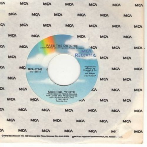Musical Youth - Pass The Dutchie (wol) - EX8/ - 45 rpm Records