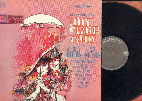 My Fair Lady - My Fair Lady - Original Motion Picture Sound Track (vinyl STEREO LP record, gate-fold cover) - EX8/EX8 - LP Records