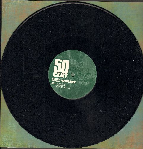 50 Cent - In Da Hood/8 Mile Road (6 Tracks on 12 inch vinyl Maxi Single) - NM9/ - Maxi Singles