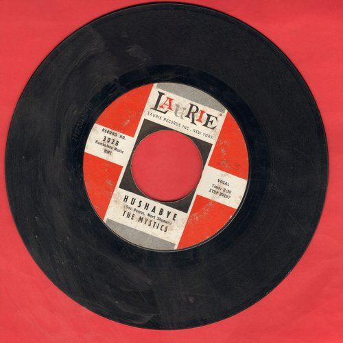 Mystics - Hushabye/Adam And Eve - VG7/ - 45 rpm Records