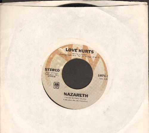 Nazareth - Love Hurts/Hair Of The Dog - VG7/ - 45 rpm Records