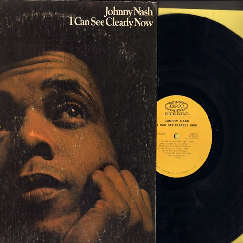 Nash, Johnny - I Can See Clearly Now: Stir It Up, Guava Jelly, So Nice While It Lasted, Cream Puff, How Good It Is (vinyl STEREO LP record) - NM9/VG7 - LP Records