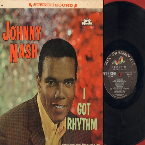 Nash, Johnny - I Got Rhythm: You're Driving Me Crazy, Jeepers Creepers, And The Angels Sing, Looking For A Girl (vinyl STEREO LP record) - EX8/EX8 - LP Records