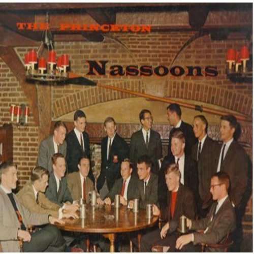 Princeton Nassoons - The 1963 Princeton Nassoons: Midnight Choo-Choo, If I Fall In Love, Christopher Robin, Perfidia, Danny Boy, September Song, Georgia Brown (vinyl MONO LP record) - M10/EX8 - LP Records