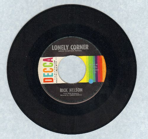 Nelson, Rick - Lonely Corner/There's Nothing I Can Say - VG7/ - 45 rpm Records