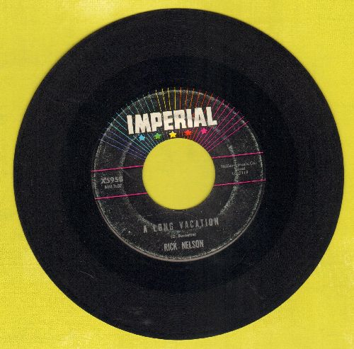 Nelson, Rick - A Long Vacation/Mad Mad World - EX8/ - 45 rpm Records