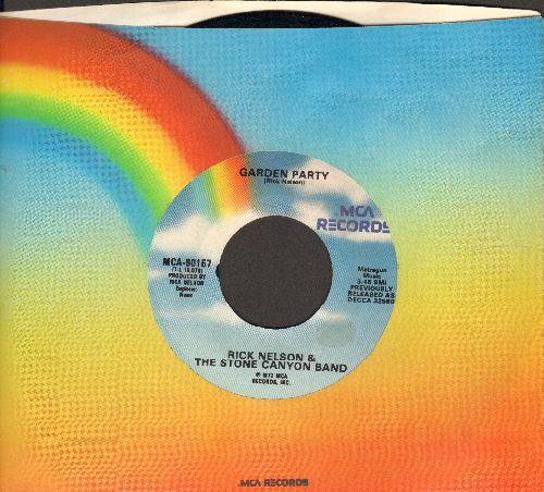 Nelson, Rick - Garden Party/So Long Mama (re-issue with MCA company sleeve) - NM9/ - 45 rpm Records