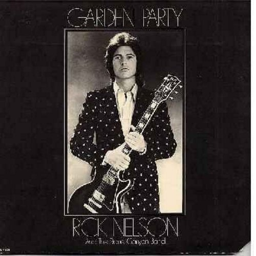 Nelson, Rick - Garden Party: I Wanna Be With You, Don't Let Your Good-Bye Stand, Palace Guard (vinyl STEREO LP record) - VG7/VG6 - LP Records