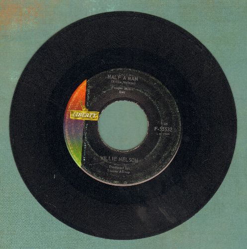 Nelson, Willie - Half A Man/The Last Letter - VG6/ - 45 rpm Records