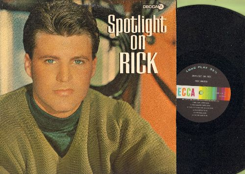 Nelson, Rick - Spotlight On Rick: I'm A Fool, A Happy Guy, Live And Learn, In My Dreams (vinyl MONO LP record) - NM9/NM9 - LP Records