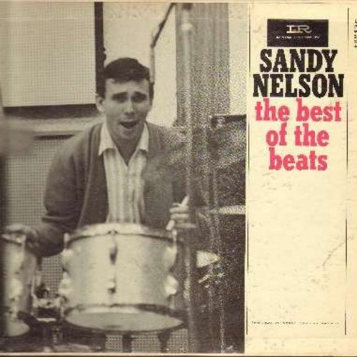 Nelson, Sandy - The Best Of The Beats: Let's Go, Yakety Yak, Stahher Lee, All Shook Up, Don't Be Cruel, La Bomba Bossa Nova, Mother-In-Law, Willie And The Hand Jive (vinyl MONO LP record) - EX8/VG6 - LP Records