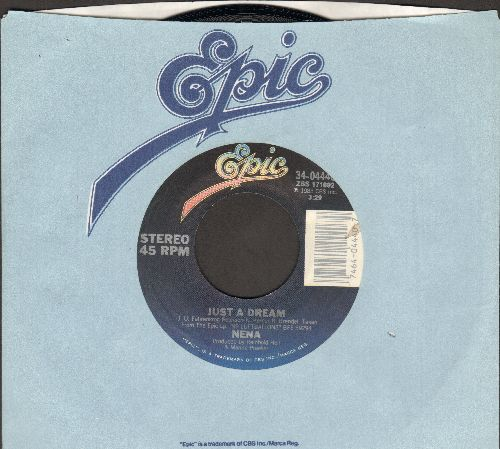 Nena - Just A Dream/Rette Mich (US Pressing, sung in English and German) - M10/ - 45 rpm Records