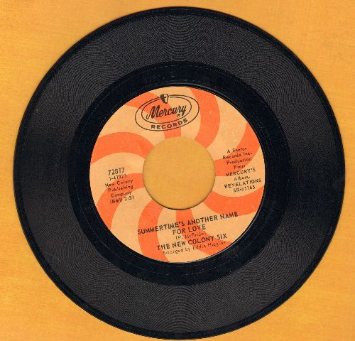 New Colony Six - Can't You See Me Cry/Summertime's Another Name For Love - NM9/ - 45 rpm Records