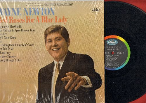 Newton, Wayne - Red Roses For A Blue Lady: Heart, I'm Looking Over A Four Leaf Clover, They'll Never Know, Laura Lee (vinyl STEREO LP record, cover still in shrink wrap) - EX8/NM9 - LP Records